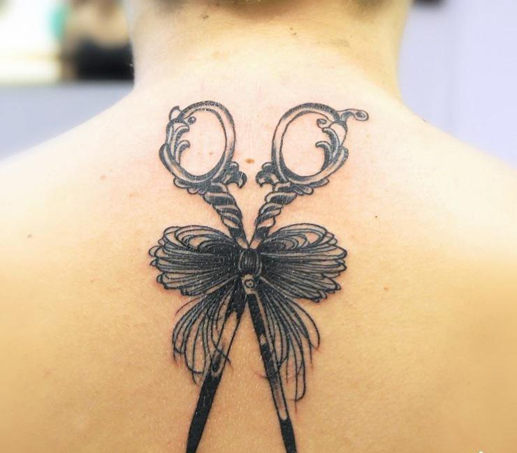 Anaïs Allnt baroque tattoo design