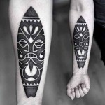 Kamil Czapiga simple black tattoo design