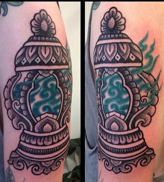 Alvaro Flores Southeast Asian tattoo design