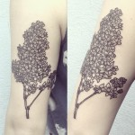Ana Work flower tattoo design