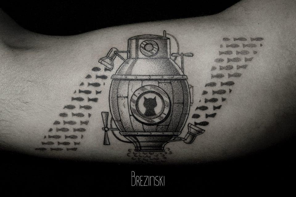 Ilya Brezinski creative tattoo design