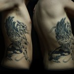 Sadhu le Serbe masculine tattoo design