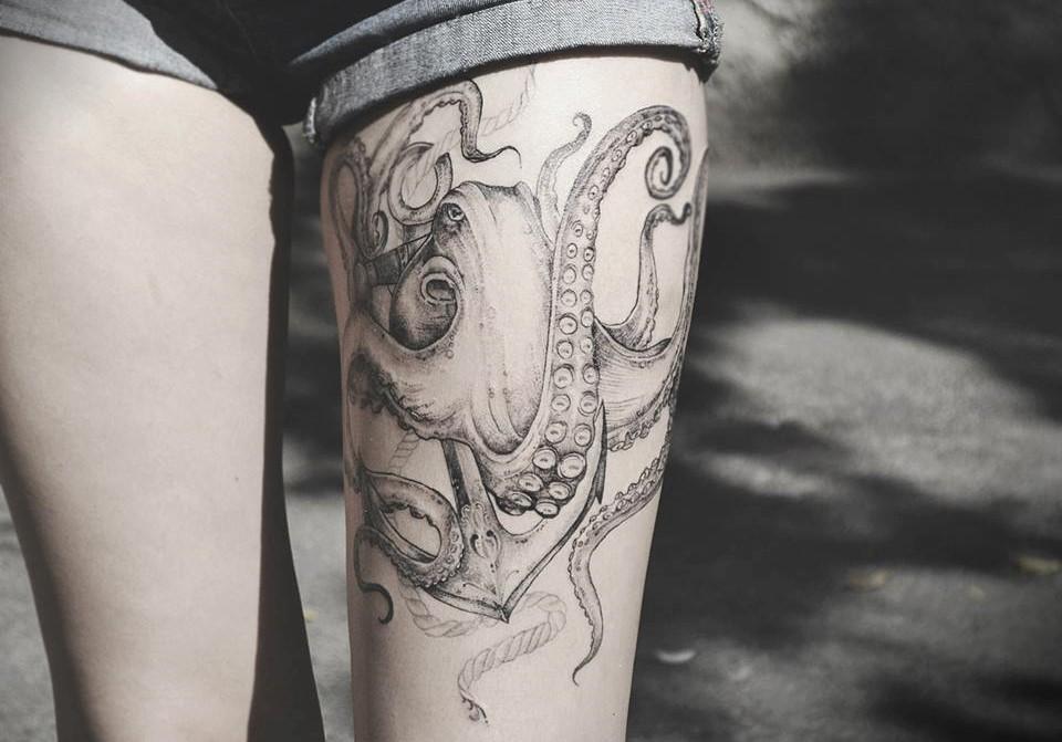 Diana Severinenko tattoo